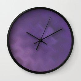 Purple daze 16 Wall Clock