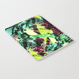 Tossed Toucan  Notebook