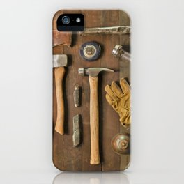 Tools (Color) iPhone Case