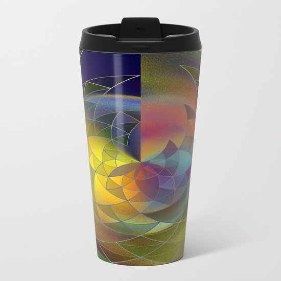 polar under construction Metal Travel Mug