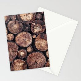 The Wood Holds Many Spirits Stationery Cards