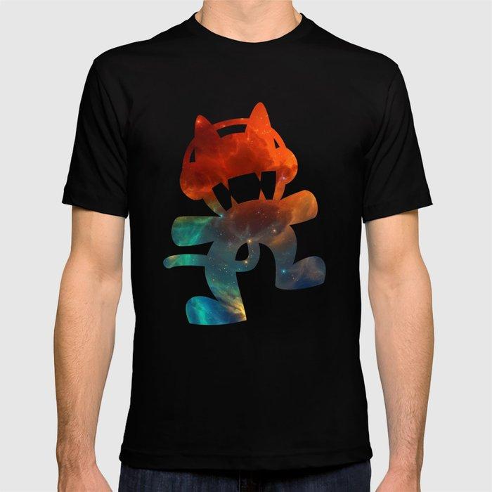 ae7fc3676313 Monstercat galaxy - minimal T-shirt by alexnolasco