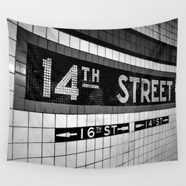 Subway Wall Tapestry