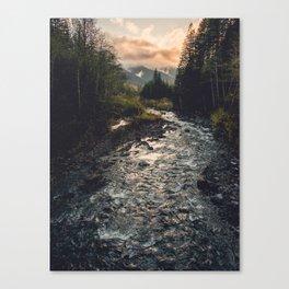 The Sandy River II Canvas Print