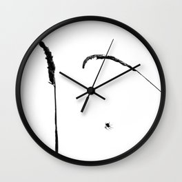 Just hanging arround Wall Clock