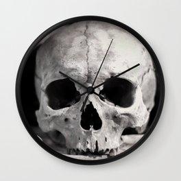 Skulls And Bones Wall Clock