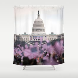 United States Presidential Inauguration Shower Curtain