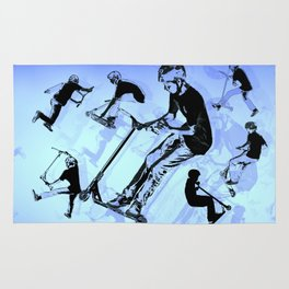 It's All About The Scooter! - Scooter Tricks Rug