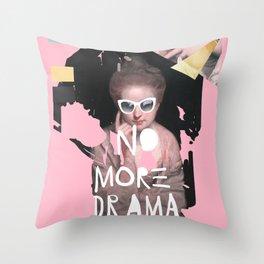 drama queen. Throw Pillow
