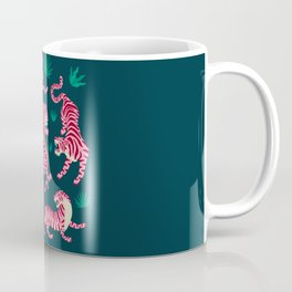 Night Race: Pink Tiger Edition Coffee Mug