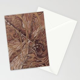 These waves look a little rough Stationery Cards