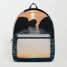 Sunset by the Sea // Landscape Photography Backpack
