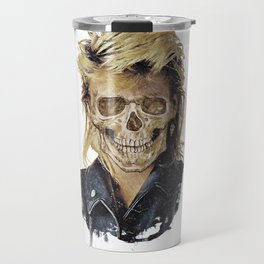 Rock Skull 80s Travel Mug