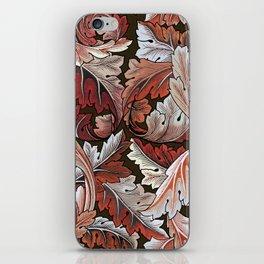 Art Nouveau William Morris Autumn Acanthus Leaves iPhone Skin