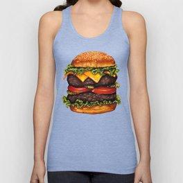 Cheeseburger - Double Unisex Tank Top