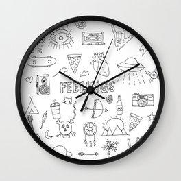 stuff & things Wall Clock