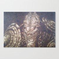 starcraft Canvas Prints featuring En Taro Zeratul by artbyolev