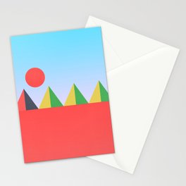 Pyramids in the Sun Stationery Cards