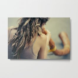 Dreadlocks & Buddhism Metal Print