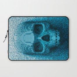 Pixel skull Laptop Sleeve