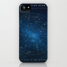 Constellation Star Map iPhone Case
