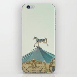 Carrousel Horse iPhone Skin