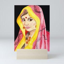 Bengali Princess Mini Art Print