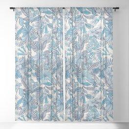 Valldemossa by Matthew Williamson Sheer Curtain