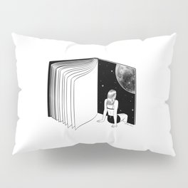 Reading is Dreaming with Your Eyes Open Pillow Sham