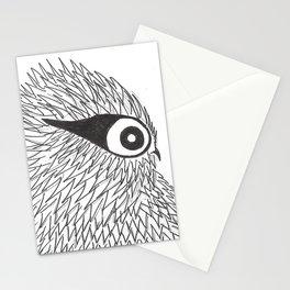 Owl 4 Stationery Cards