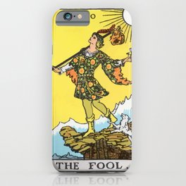 00 - The Fool iPhone Case