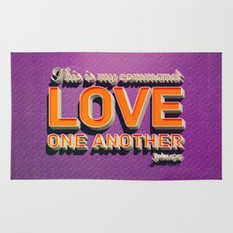 Love One Another! Rug