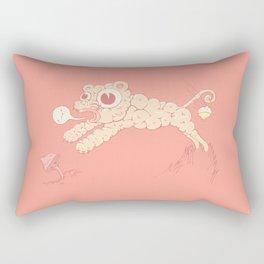 Creamy fun Rectangular Pillow