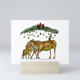 Saiga Antelope Mini Art Print