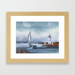 Almost Home Framed Art Print