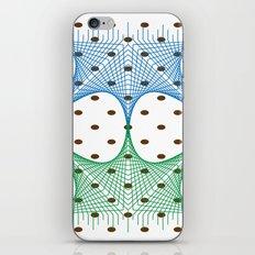 Earthly Tone Mesh Line Art iPhone & iPod Skin