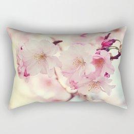 cotton candy flowers Rectangular Pillow