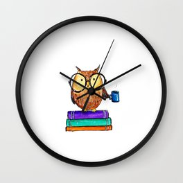 Oliver the Owl Wall Clock