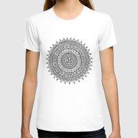ohm T-shirts featuring Ohm Mandala by Sarah Ottino