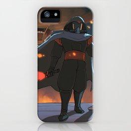 Darth Ghibli's Arrival iPhone Case