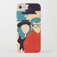 annie hall iPhone & iPod Cases featuring Annie Hall by Roland Lefox
