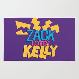 Zack Loves Kelly Rug