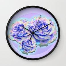 cyber_flowerz Wall Clock