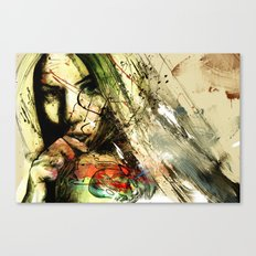 catch hell blues Canvas Print