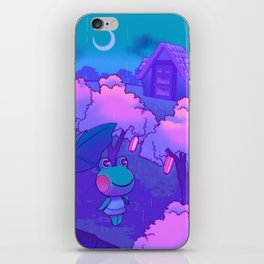 Midnight Lily iPhone Skin