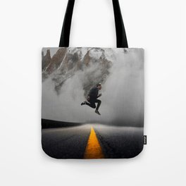 Magnetic Levitation - Power Mountain by GEN Z Tote Bag