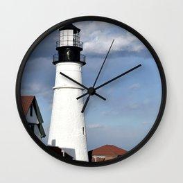 Coastal Maine Wall Clock