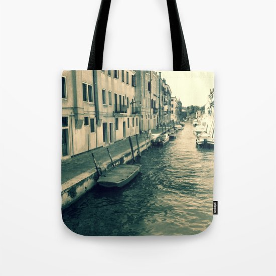 Venezia, where my heart is Tote Bag