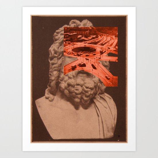 Crossroads · Zeus Art Print