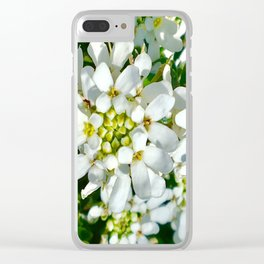 Pure peace Clear iPhone Case